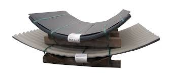 dutch barn in anthracite curved corrugated steel sheets curved roof measurment guide
