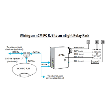 ncm pc rjb nlight daylight sensor primary secondary zones ncm pc wiring diagram non dimming