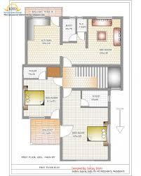 floor plans duplex house designs plan and elevation sq ft kerala