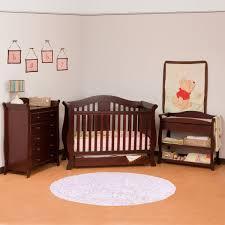piece nursery set vittoria convertible crib aspen changing table and avalon drawer dresser in cherry wood furniture changer free kids dark baby