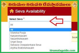 Tirumala Accommodation Availability Chart Ttd Seva Online Booking App Ttd Seva Online Booking Darshan