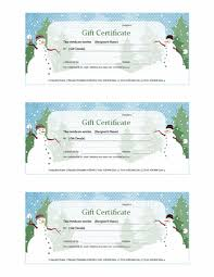 Free to download and print. Holiday Snowman Gift Certificate Template Template For Publisher 2013 Or Newer Inside Gift Certificate Template Cart