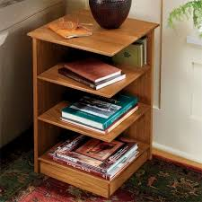 Corner table with shelves Pallet Orvis Wood Corner Shelf Table Readers Corner Table Orvis