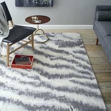 diffused zebra printed wool rug west elm real zebra rug zebra skin rugs for south