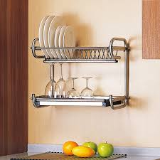 3 advantages of having dish drying rack. Amazon.com: Probrico Wall Mounted Dish Drainer Rack Stainless Steel 19.6 Inch Drying Plates Bowls Storage Organizer Holder: Kitchen \u0026 Dining 3 Advantages Of Having