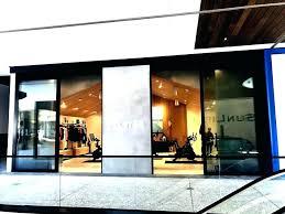 folding glass doors cost folding exterior glass doors cost exterior glass wall systems how much do