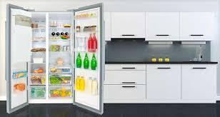 stylish american style fridge freezer interior