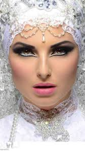 step by step arabic party wear bridal eye plete face makeup tutorial with pictures 9