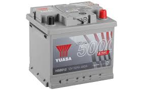 yuasa 12v silver car battery hsb012 yuasa 12v silver car battery hsb012 5 yr guarantee