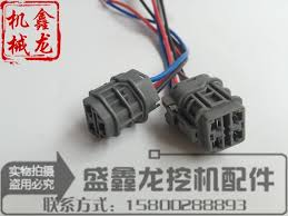 excavator accessories for komatsu pc200 5 6 throttle motor plug Wiring Harness Diagram excavator accessories for komatsu pc200 5 6 throttle motor plug, engine wiring harness