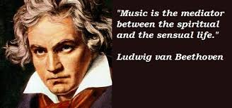 Ludwig van Beethoven's quotes, famous and not much - QuotationOf . COM via Relatably.com