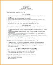 Janitor Resume Sample Custodial Worker Resume Sample Janitor