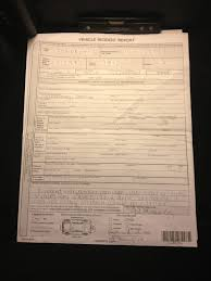 Incident Report Clearly Stating I Saw Damage On Car Before I