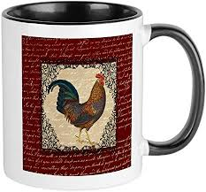 4.5 out of 5 stars (2,791) $ 13.99. Amazon Com Cafepress Red Vintage Rooster Mugs Unique Coffee Mug Coffee Cup Kitchen Dining