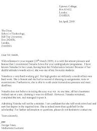 Letter Of Recommendation From Employer To College Gallery Of Scholarship Recommendation Letter Template From Employer