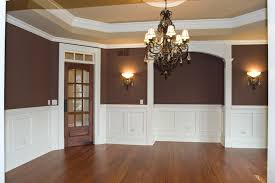 Living Room Amusing Dining Two Tone Paint Ideas