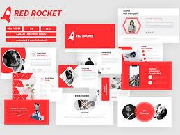 Presentation Design Templates Redrocket Presentation Design By Kuzen Power On Dribbble
