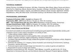 Video Editor Resume Examples Of Resumes Resume Editor Sample