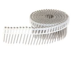 15 plastic sheet collated siding nails