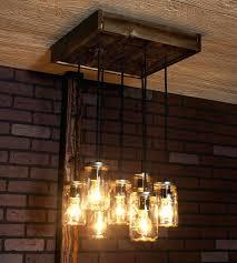 reclaimed wood chandelier photo 4 of 8 attractive barn wood chandelier good looking 6 mason jar reclaimed wood chandelier