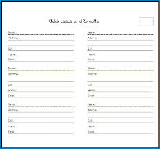 Address Book Printable Template Create Your Own Do It Yourself Diy Address Book Template