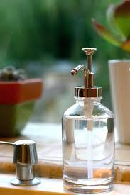 oil can soap dispenser nook and sea target threshold rubbed bronze glass oil can soap dispenser amber glass