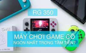 Trên tay máy chơi game cổ RG 350: Có thể nói là máy chơi ngon nhất trong  tầm tiền