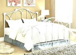 Wood And Wrought Iron Bed Frame King Queen Headboard 9 X Bench Home ...
