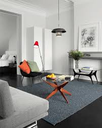 carpet colors for living room. White Interior Color And Grey Carpet Using Round Glass Coffee Table For Modern Living Room Ideas Colors E