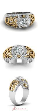 Antique Deco 14k Yellow Gold Hematite Mens Ring Fine Estate Jewelry