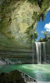beautiful waterfall ultra hd desktop