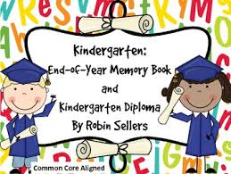 kindergarten end of year memory book and kindergarten diplomas by  kindergarten end of year memory book and kindergarten diplomas
