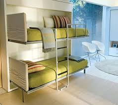 contemporary bunk beds with ladder