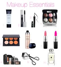 i often get asked what type of make up use so have put together a list