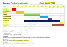 Production Scheduling In Excel Production Schedule Template Excel Word Excel Tmp