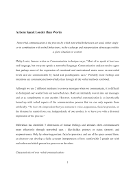 actions speak louder than words essay essay on actions are action speak louder than words essay actions speak view larger