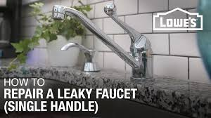 crazy faucet dripping repair how to fix a or leaky single handle you outdoor washerless tub