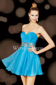 light sky blue satin sleeveless best places to homeing dress