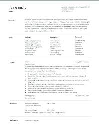 Chef Resume Resume Cover Letter Professional Sous Chef Resume ...