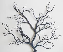 10pcs Artificial Black White Tree branches Plastic Dried Tree Branches  Artificial Flowers for Home Wedding decoration Long 94cm-in Artificial &  Dried ...