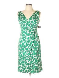 Details About Nwt Donna Ricco Women Green Casual Dress 10 Petite