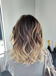 Fashion Medium Length Light Brown Ombre Hair Extraordinary Light