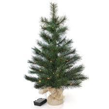 Kleiner Künstlicher Weihnachtsbaum 60 Cm Beleuchtet Batteriebetrieben