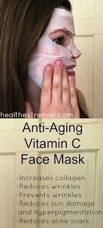 make your own face mask.  Face Make Your Own Potent AntiAging Vitamin C Face Mask Inside G