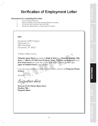 Colorful Proof Of Employment Template Embellishment Documentation