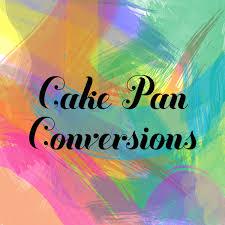 Cake Pan Conversions Calculator