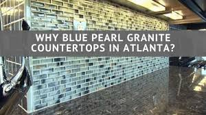 granitekitchen why blue pearl granite countertops in atlanta