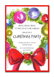 Free Christmas Invitation Template Christmas Invitation Template Word Pepino Co