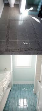 small bathroom flooring. Small Bathroom Flooring Remodel Using Aqua Blue Tiles S