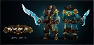 dota 2 kunkka set bestowments of the divine anchor legendary